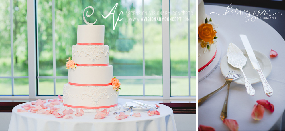 Buffalo Wedding Photography 37 Diamond Hawk Golf Course - Wedding Cake.jpg