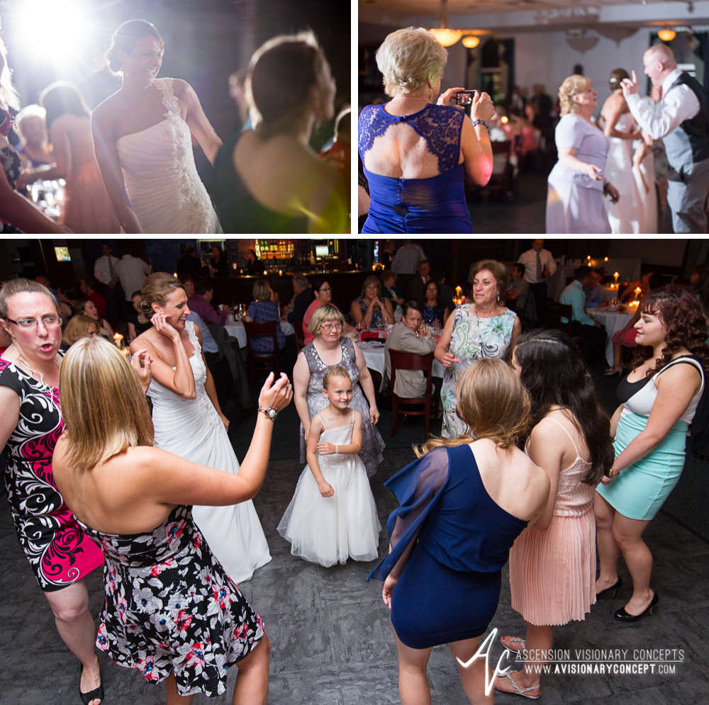 Buffalo Wedding Photography 50 Diamond Hawk Golf Course - Reception Dancing.jpg