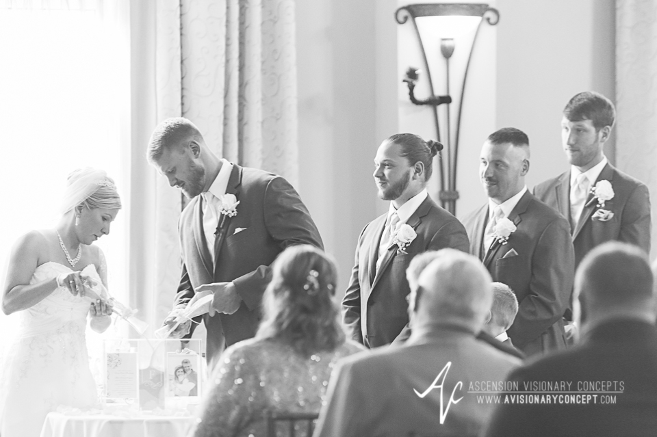 Buffalo Wedding Photography Avanti Mansion 29 Ceremony Sand Pour.jpg