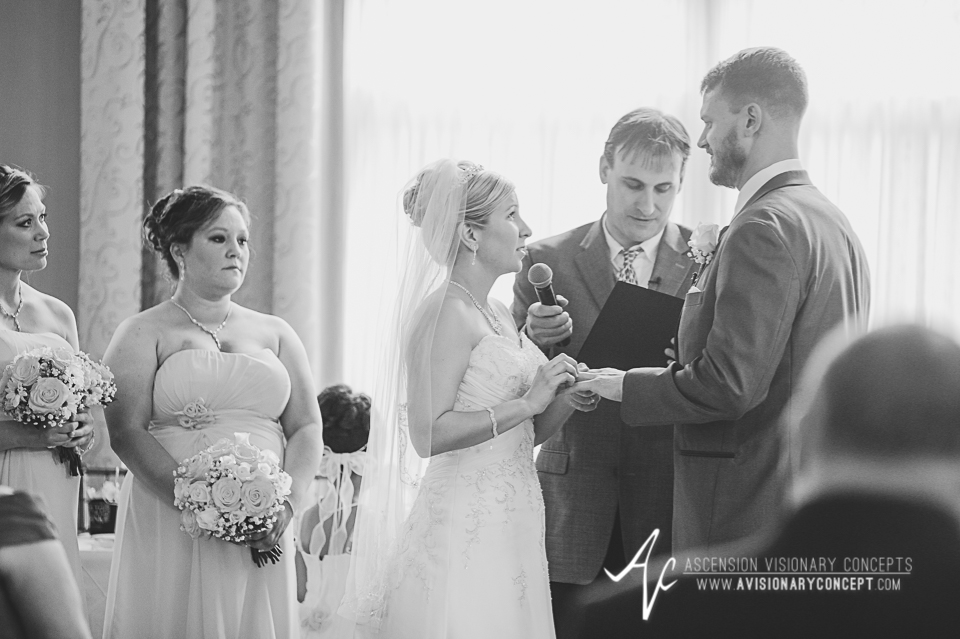 Buffalo Wedding Photography Avanti Mansion 31 Ceremony Ring Exchange.jpg