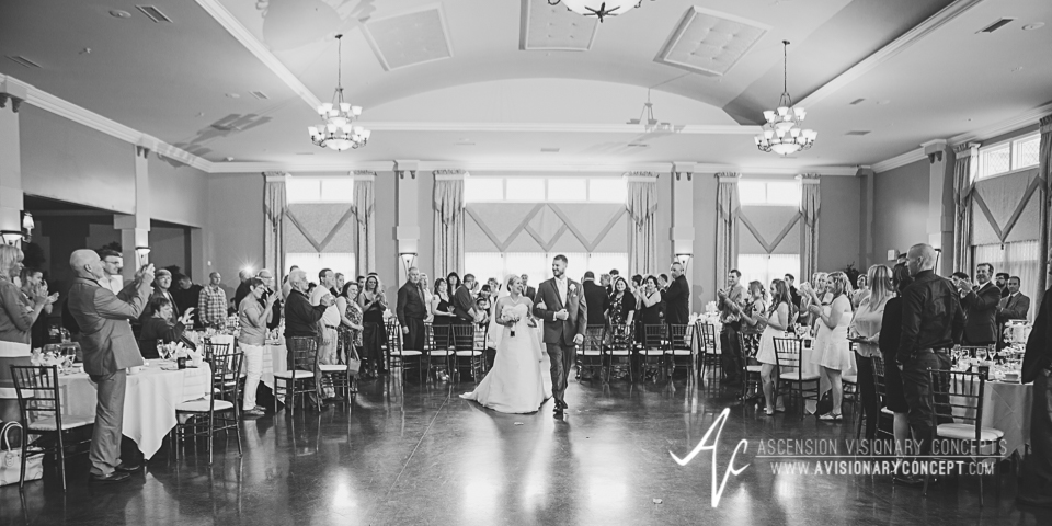 Buffalo Wedding Photography Avanti Mansion 34 Bride Groom Ceremony Exit.jpg