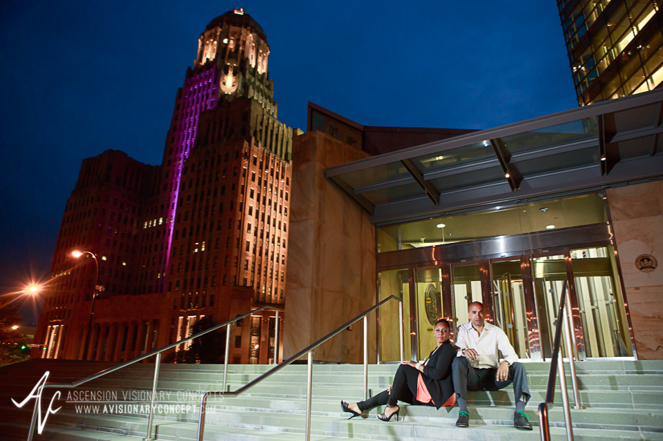 Buffalo Portrait Photography Chic Urban Anniversary Session Downtown Buffalo 16.jpg