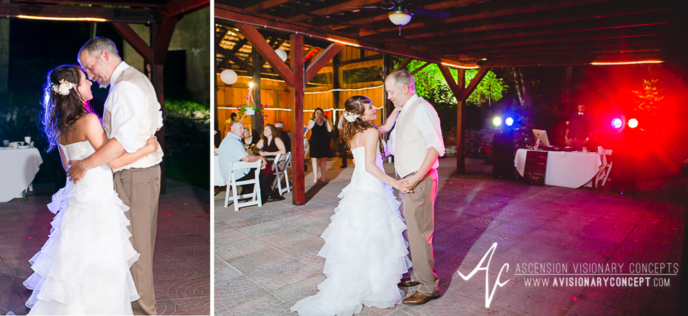 Buffalo Wedding Photography Lockport Locks Wedding 56 - Canalside Grove Outdoor Pavilion Wedding Reception Bride Groom First Dance.jpg