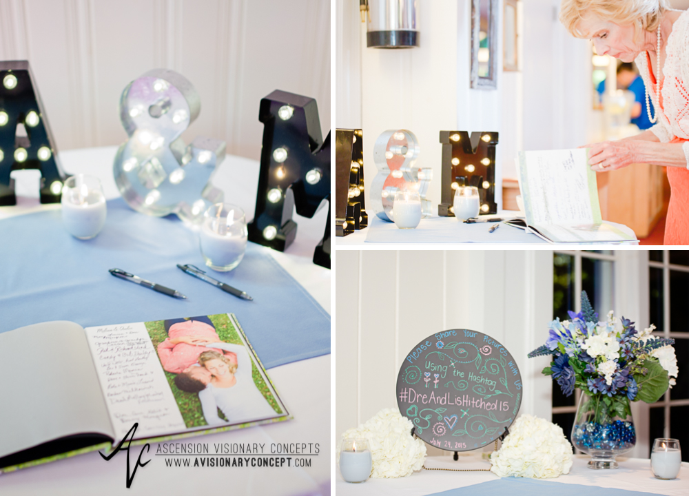 Rochester Wedding Photography Plantation Party House Spencerport Wedding 041 - Reception Guest Table Details.jpg