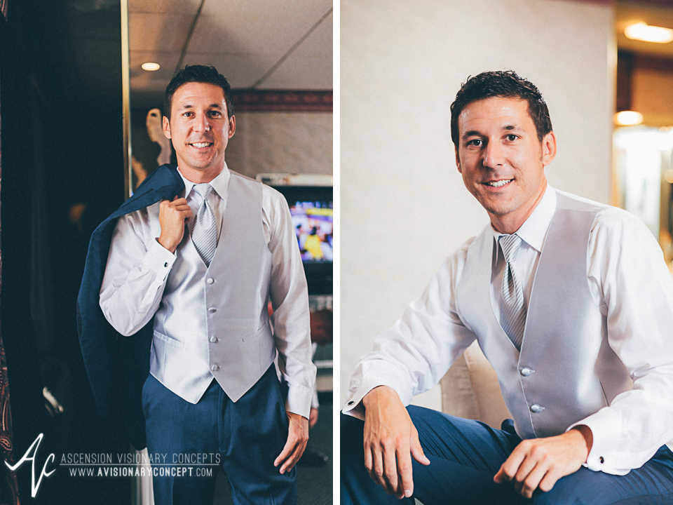 Buffalo Wedding Photography Orchard Park Country Club 003 - Salvatore's Garden Place Hotel Groom Getting Ready Portrait.jpg