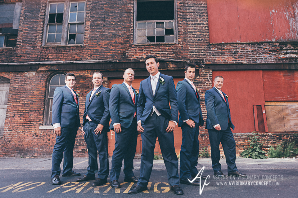 Buffalo Wedding Photography Orchard Park Country Club 032 - Urban City Downtown Bridal Party Buffalo Cobblestone District.jpg