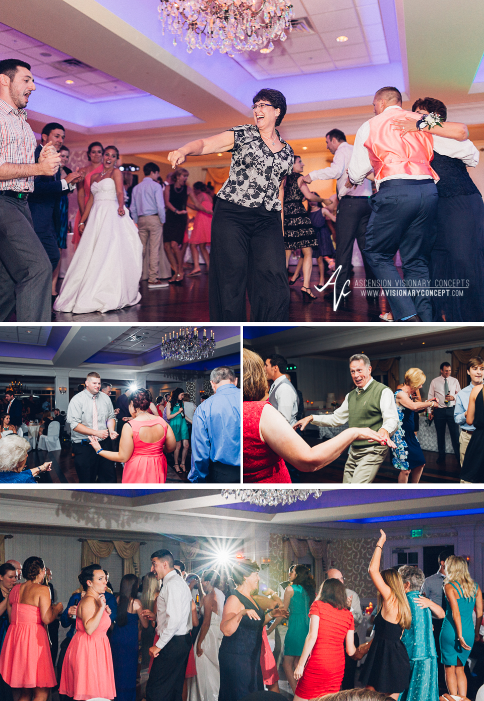 Buffalo Wedding Photography Orchard Park Country Club 068 - Reception Party Dancing.jpg