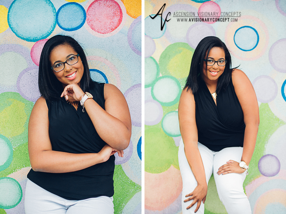 Buffalo Senior Photography 11 - Class of 2015 Summer Photography Downtown Buffalo Graffiti Wall Photography African American Teenage Girl.jpg
