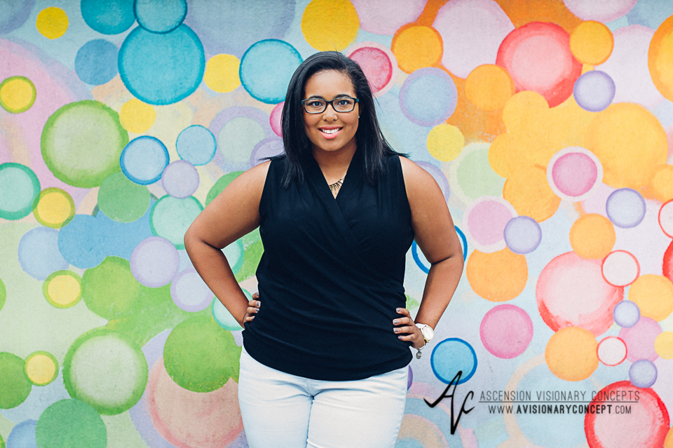Buffalo Senior Photography 12 - Class of 2015 Summer Photography Downtown Buffalo Graffiti Wall Photography African American Teenage Girl.jpg
