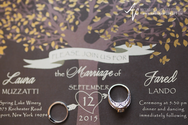 Buffalo Wedding Photography Spring Lake Winery 004 - Wedding Invitation Wedding Ring.jpg