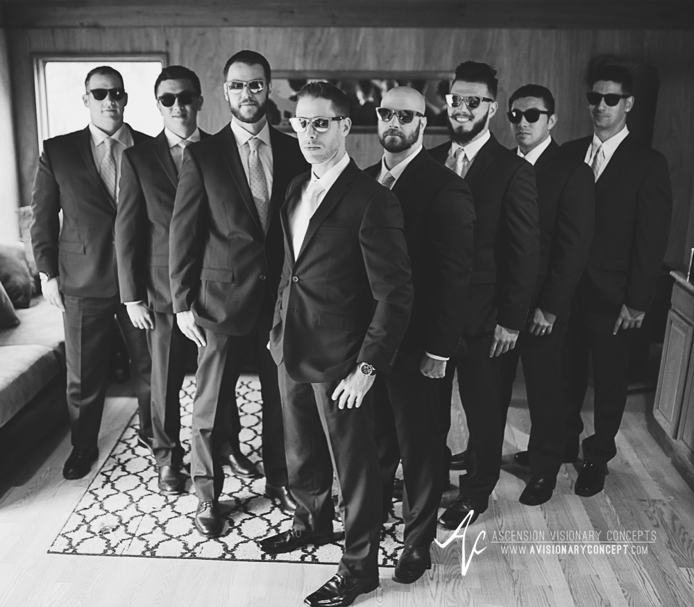 Buffalo Wedding Photography Spring Lake Winery 029 - Groom Groomsmen Cool Sunglasses.jpg