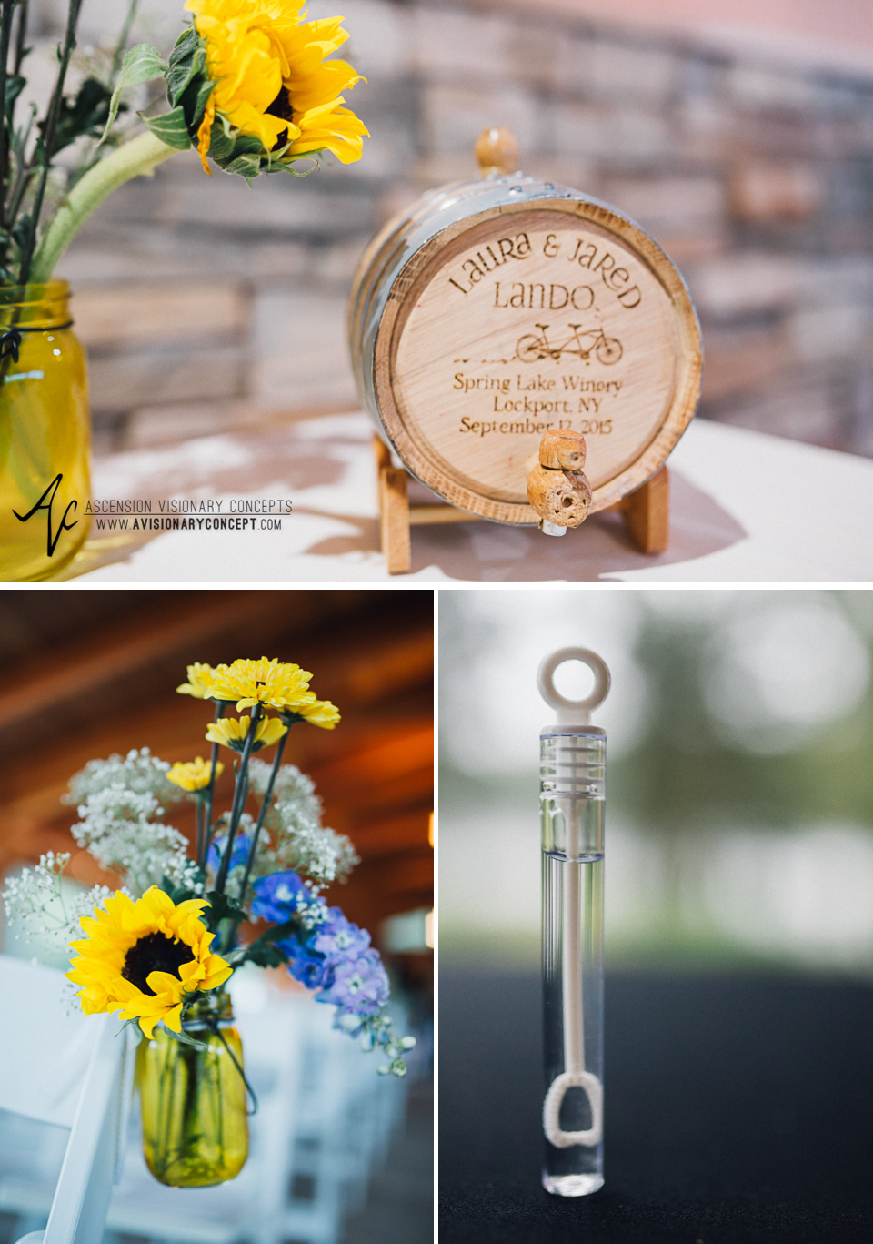 Buffalo Wedding Photography Spring Lake Winery 057 - Wedding Reception Details.jpg