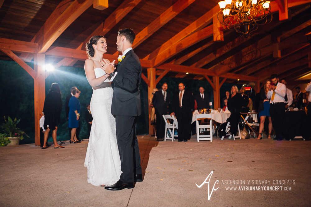 Buffalo Wedding Photography Spring Lake Winery 073 - Wedding Reception Bride Groom First Dance.jpg