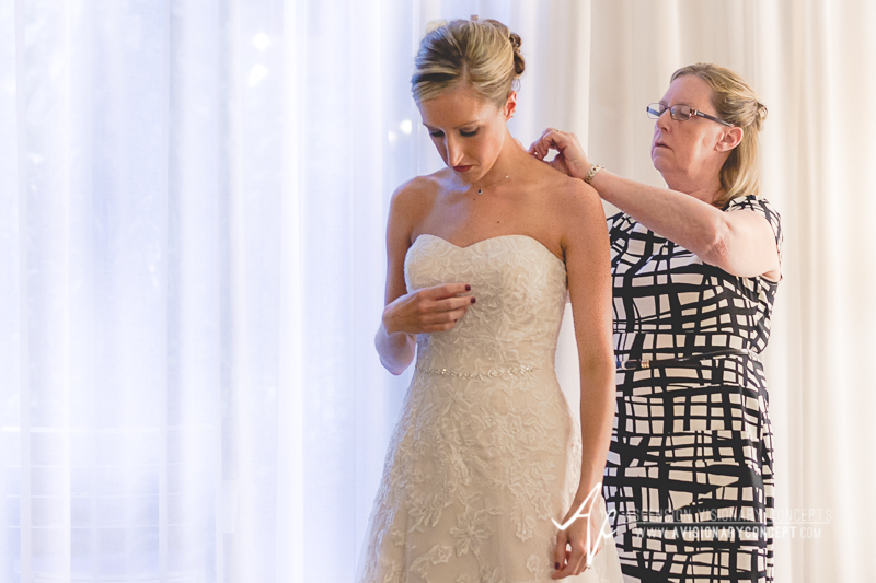 Buffalo Wedding Photography The Columns Banquets Millennium Hotel 013 - Bride Getting Ready Mother of Bride.jpg