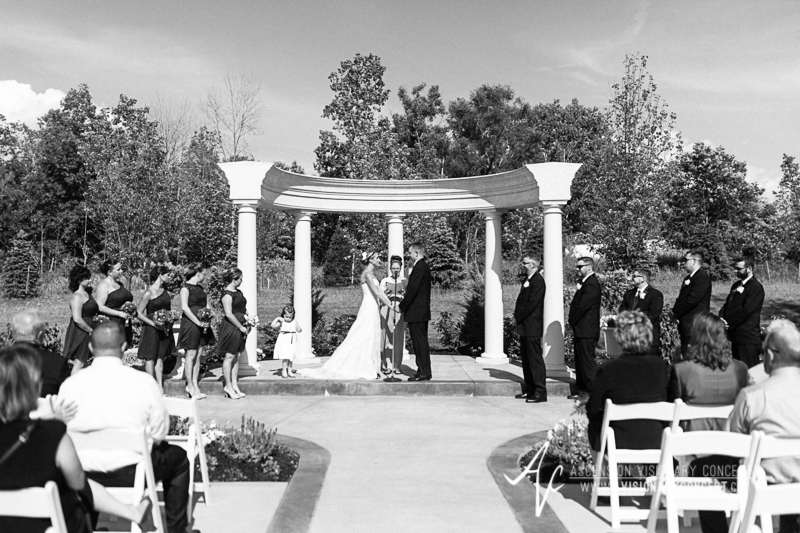 Buffalo Wedding Photography The Columns Banquets Millennium Hotel 029 - Outdoor Ceremony.jpg