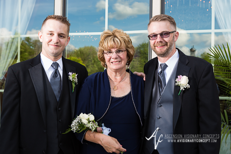 Buffalo Wedding Photography The Columns Banquets Millennium Hotel 029b - Groom Brother Mother.jpg