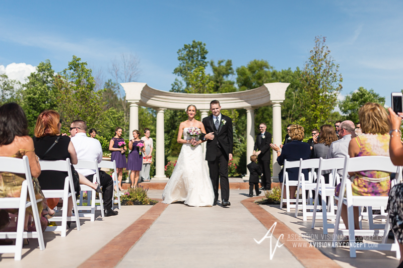 Buffalo Wedding Photography The Columns Banquets Millennium Hotel 033 - Outdoor Ceremony.jpg