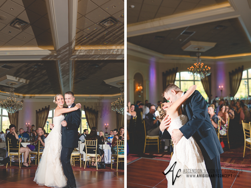 Buffalo Wedding Photography The Columns Banquets Millennium Hotel 054 - First Dance.jpg