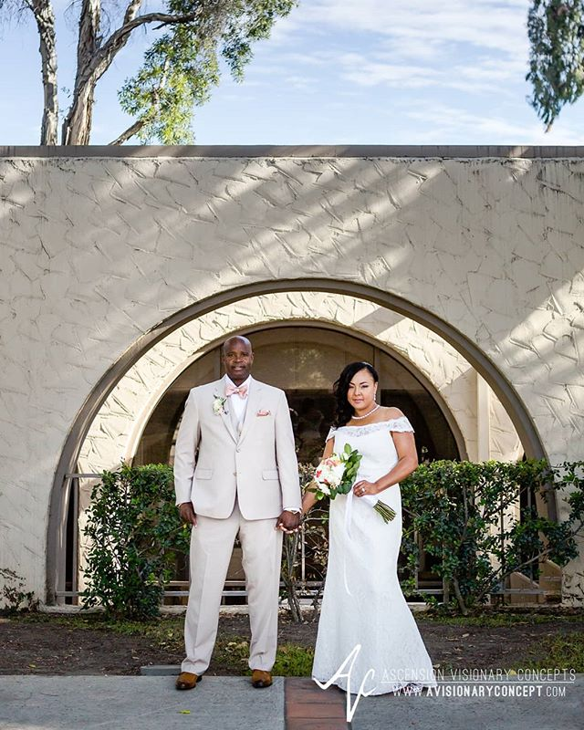Happy First Anniversary to our friends @jwis4me and @gary3233 whose beautiful Southern California wedding we had the privilege of photographing one year ago today! Wishing you both a very happy anniversary!