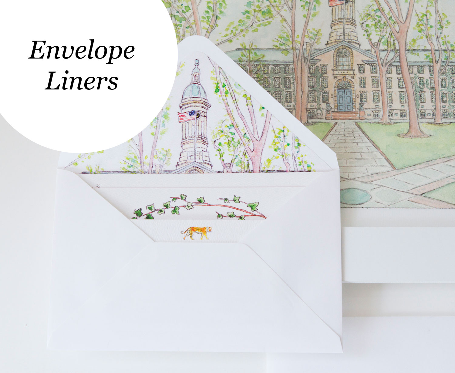 Custom Envelope Liners LAURA ANN