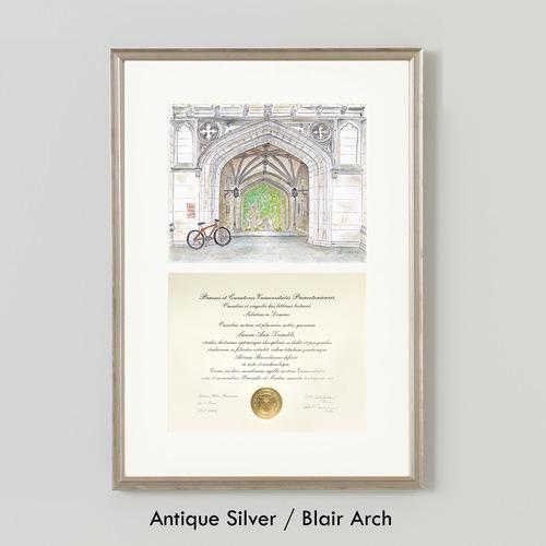 LAURA ANN Diploma Frame with Simply Framed — LAURA ANN