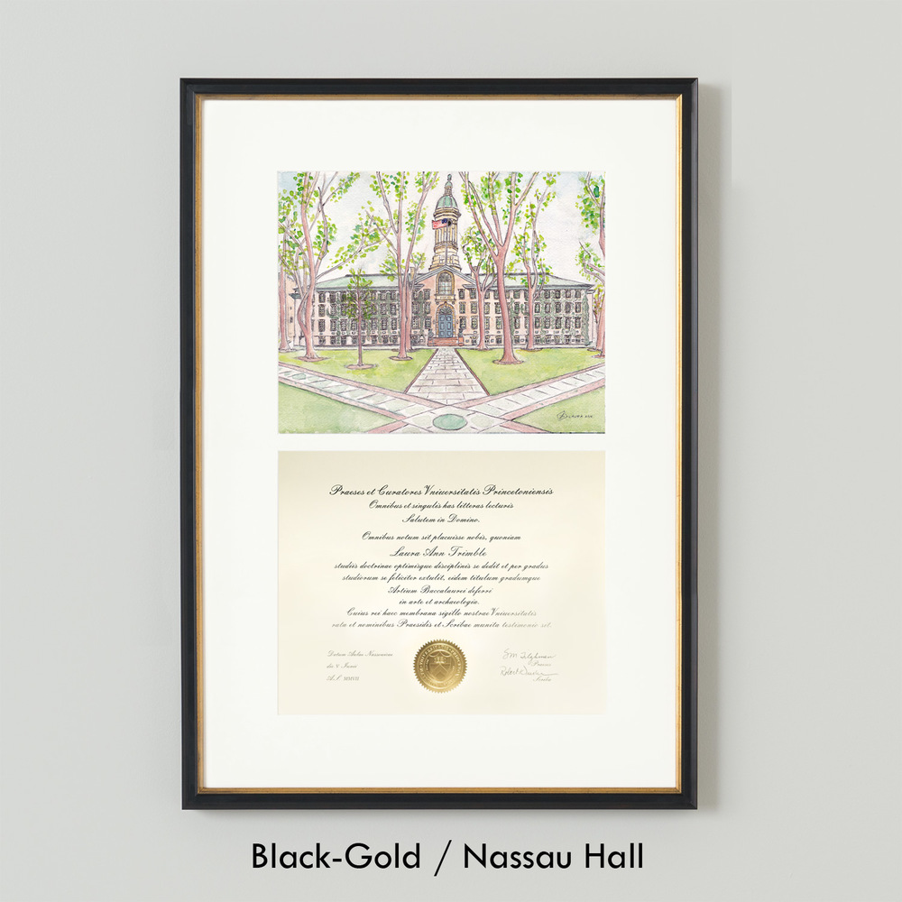LAURA-ANN_Simply-Framed_Black-Gold_Nassau-Hall.jpg