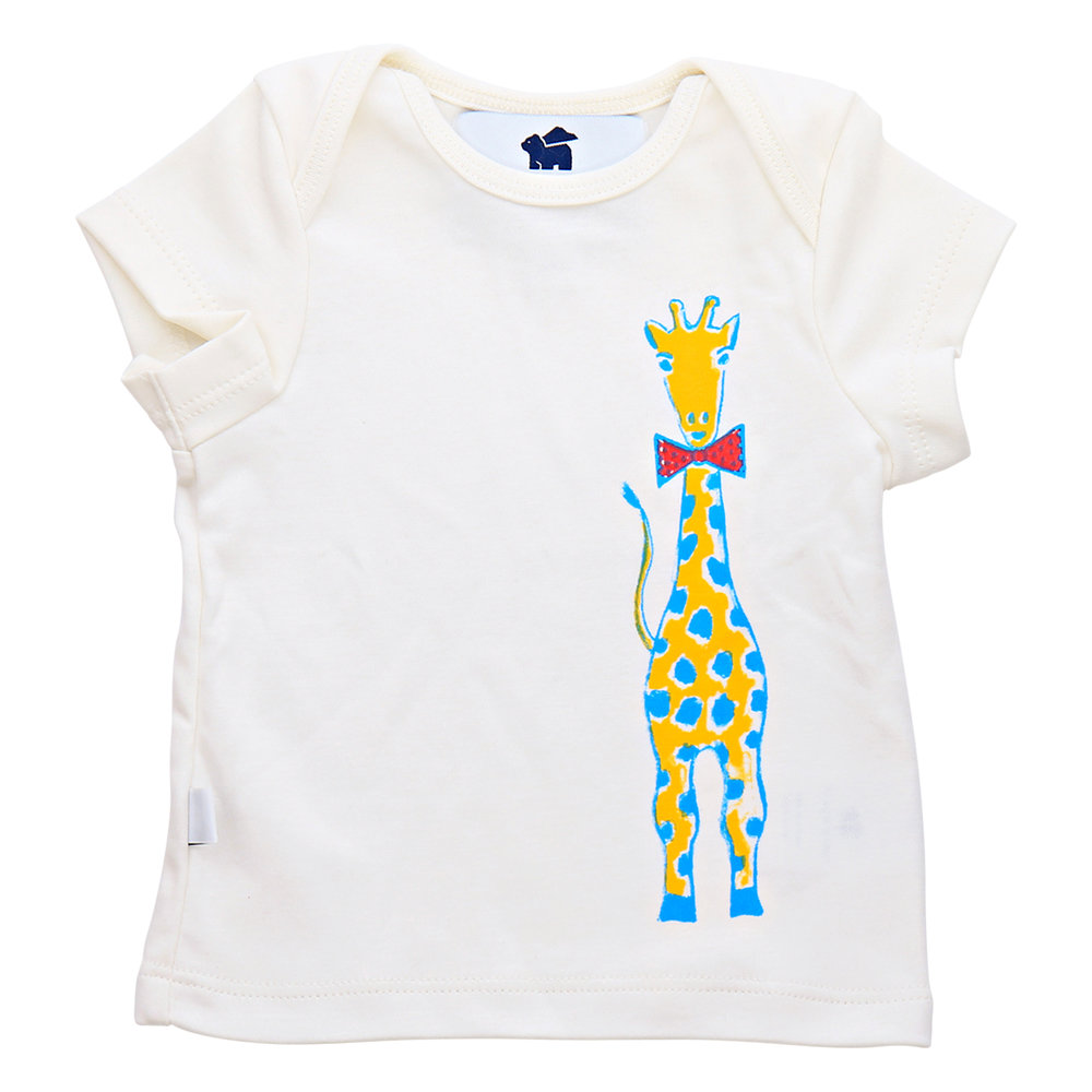 Shop  the Short Sleeve Graphic Tee (giraffe with bowtie) at  Paper Cape .