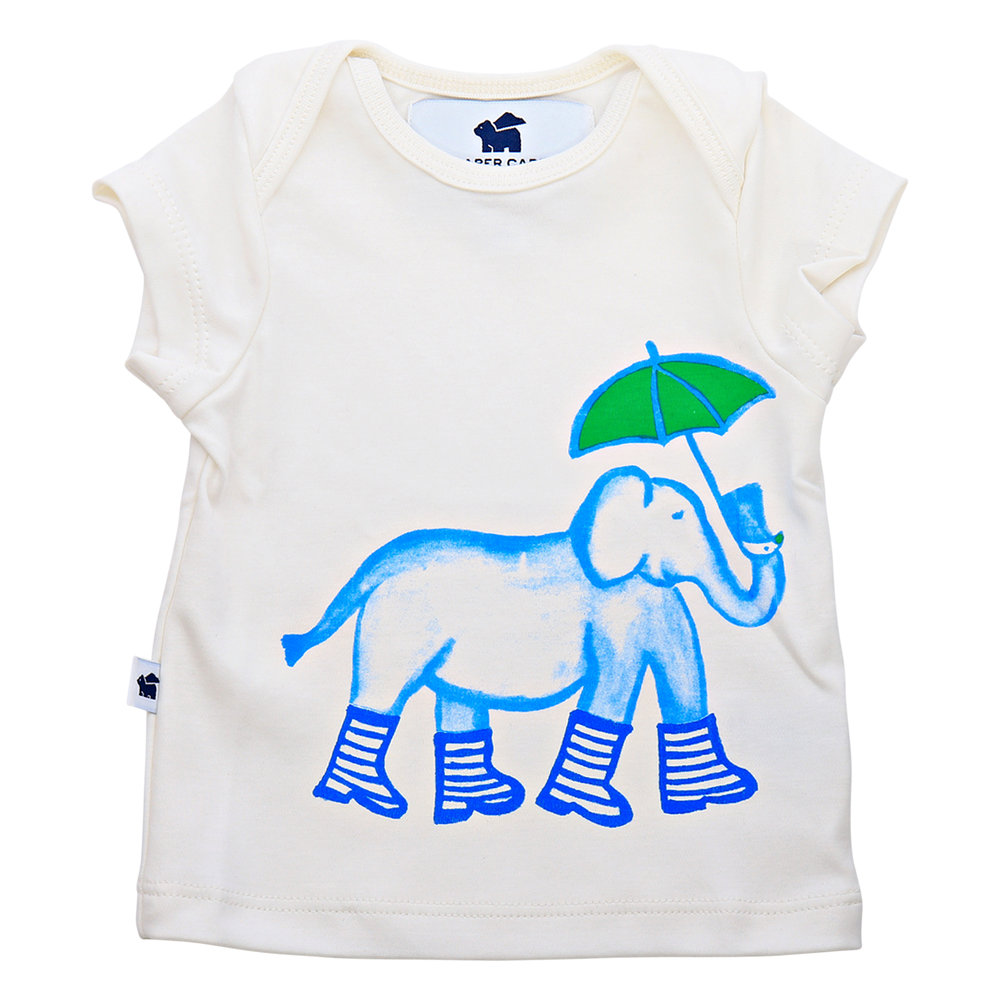 Shop  the Short Sleeve Graphic Tee (elephant) at  Paper Cape .