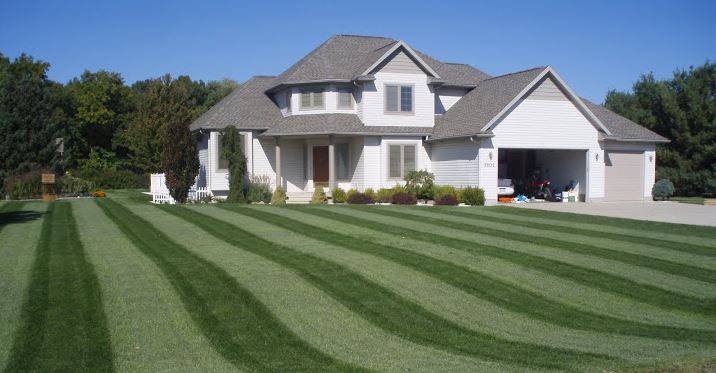 A lawn fertilization client