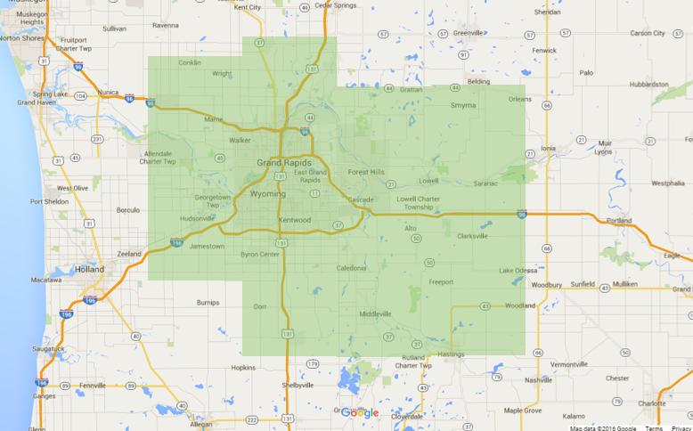 Grand Rapids Service Area
