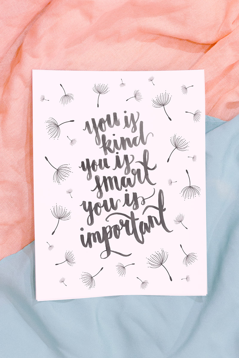 You Is Kind You Is Smart You Is Important Becca Story Smith