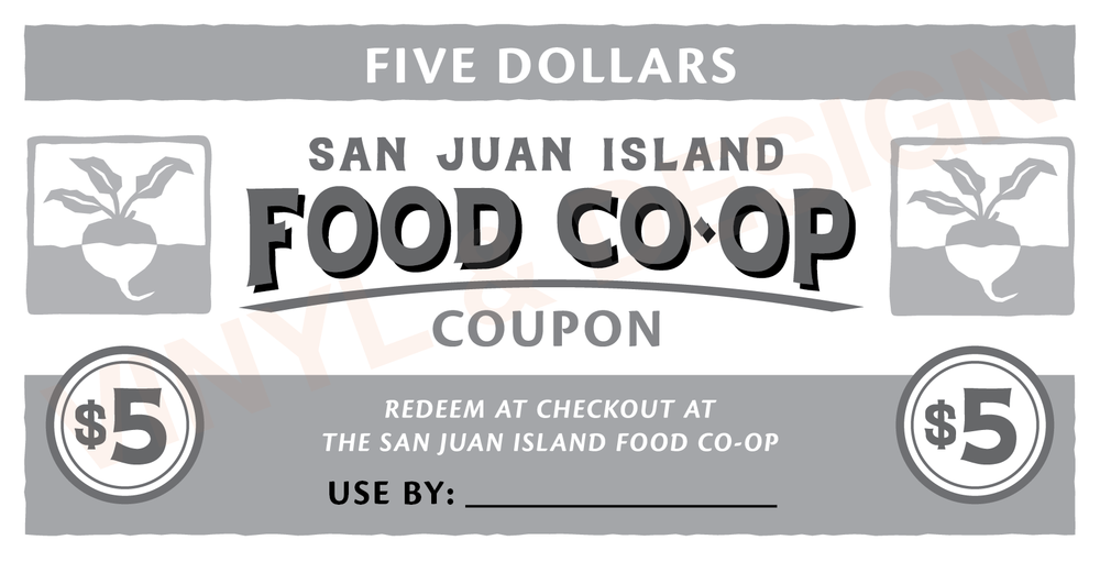 SAN JUAN ISLAND FOOD CO-OP (coupon)