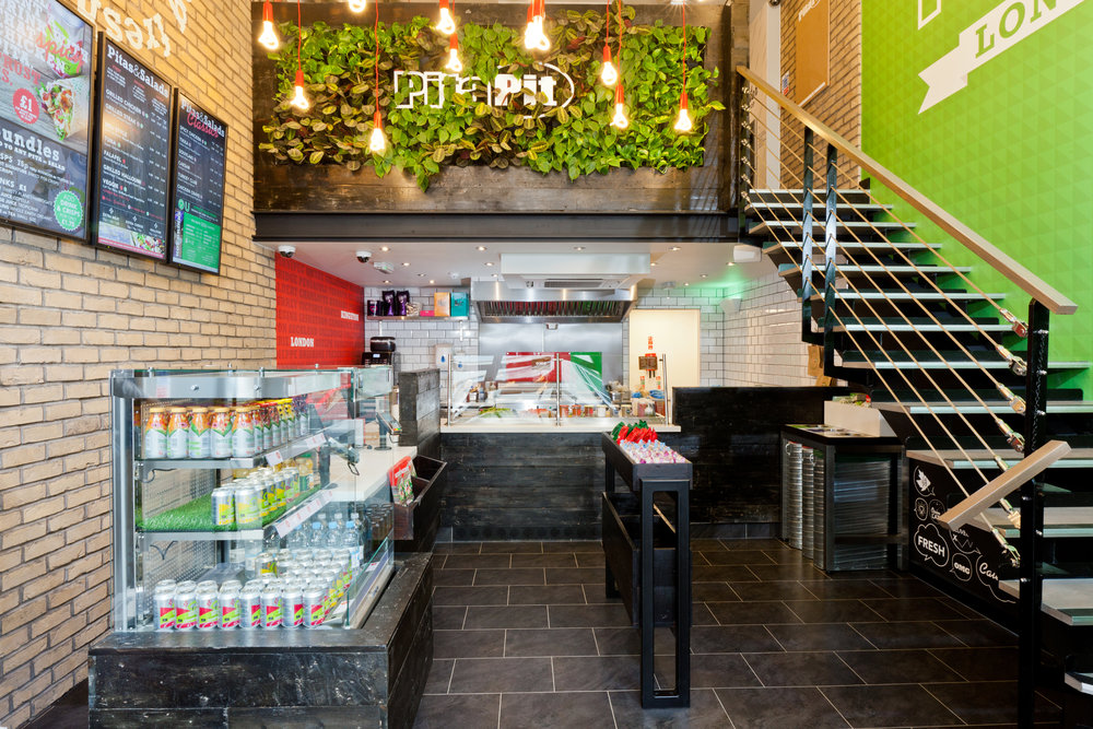 Pita Pit - INTERIOR DESIGN