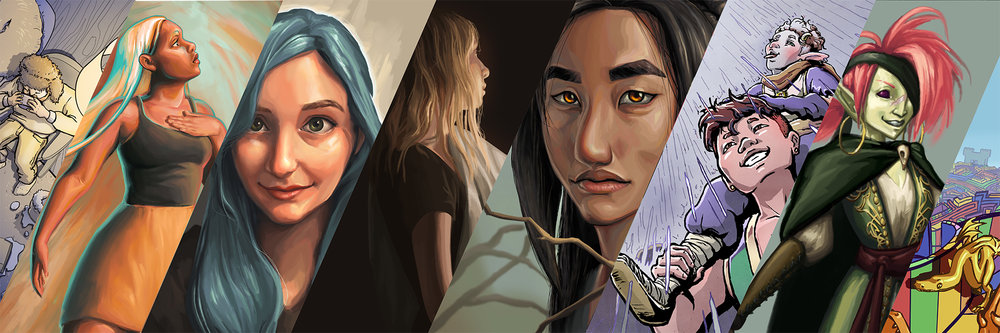 Ahna Valdez - Visual Development Artist & Illustrator