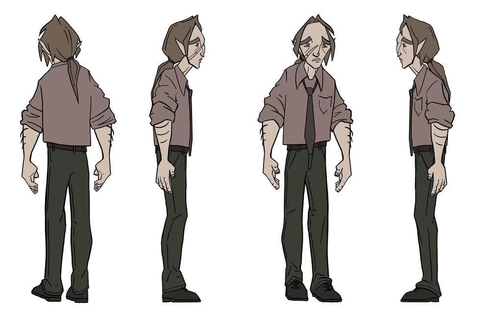 Main character turnaround