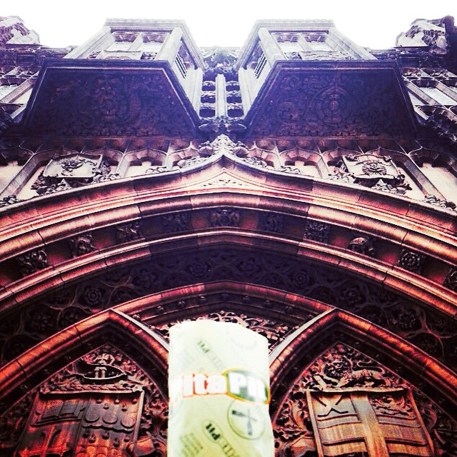 #PitaPit on tour... @thejohnrylands  #Manchester #Deansgate
