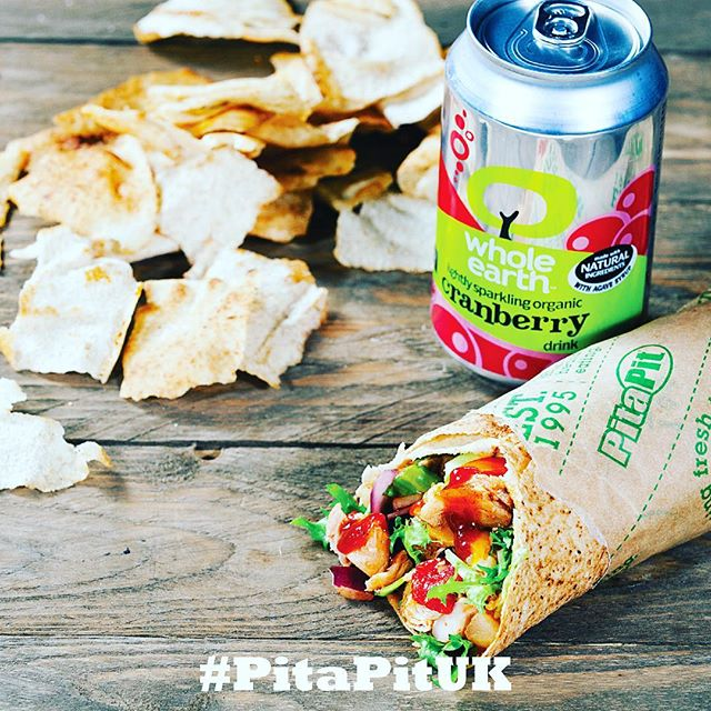 Save your 💷 grab a #bundle at Pita Pit today. Pita+OrganicCola+PitaCrisps=Delicious