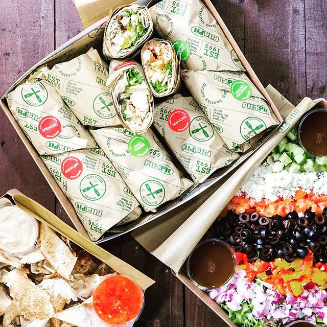 Need to sort lunch for your team this week? Order your catering pack at pitapituk.com/manchester/#ma… #catering #hungry