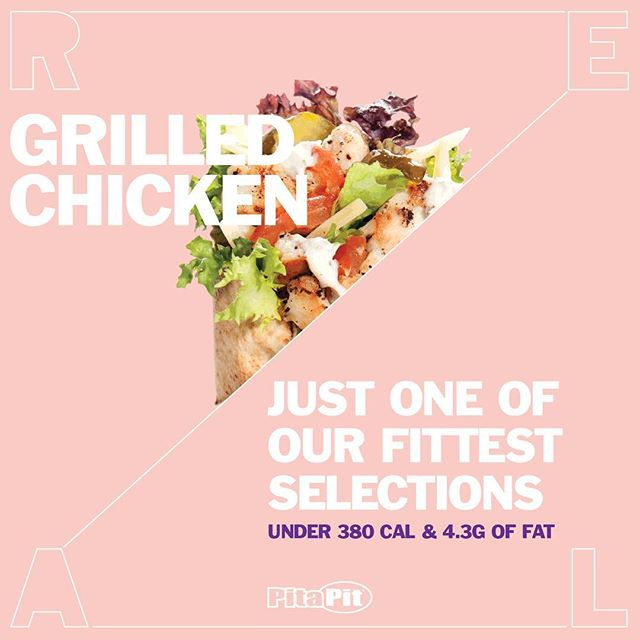 Grilled Chicken - just one of our fittest selections! #pitapit #pitapituk #fittestselections