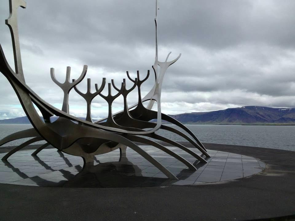 (Pictured: viking longboatSculpture in Reykjavik)