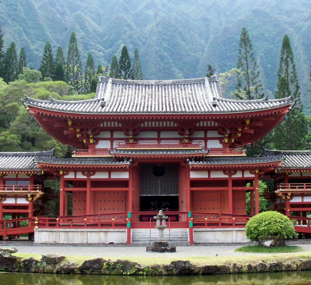 image provided by stephanie barnard - the Byodo-In Temple