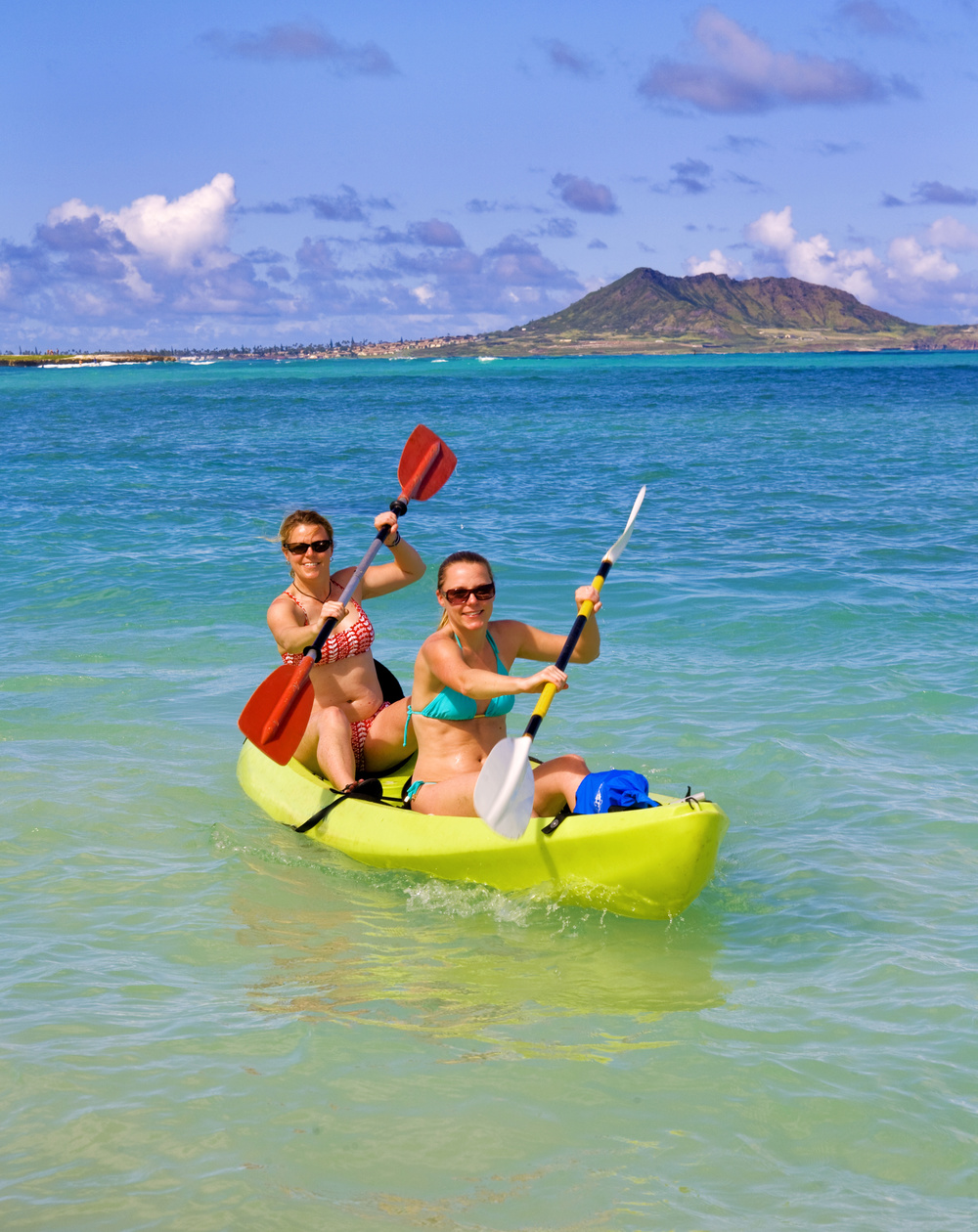 Maui is great for an active vacation - surf, hike, kayak or just lay on the beach.