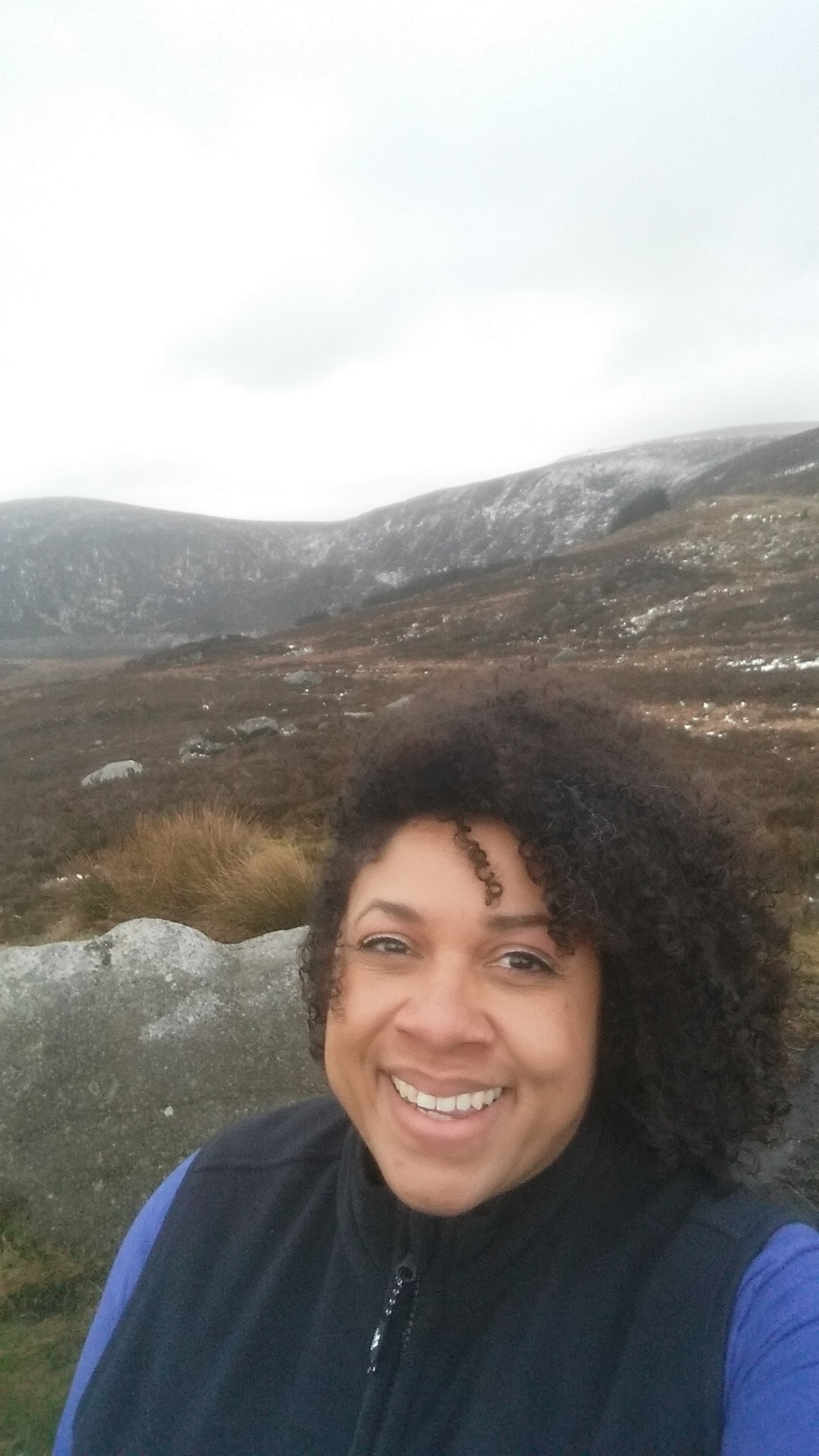 Windy up on Wicklow Gap