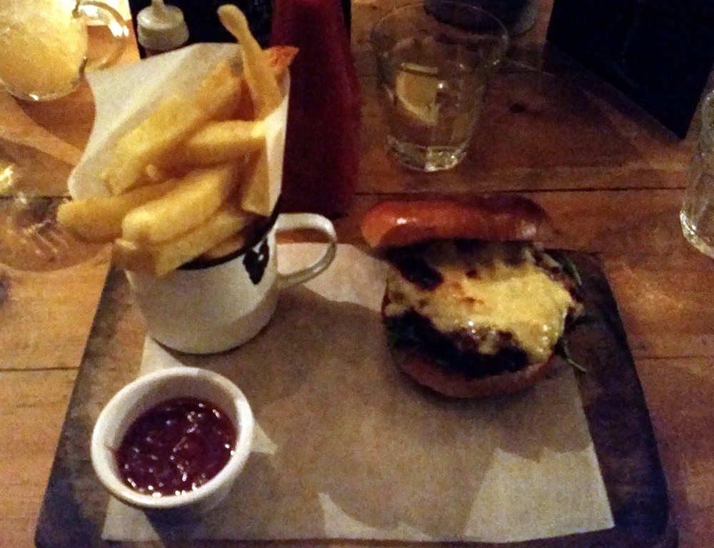 Made in belfast is a fantastic place to grab a meal. my burger was followed by a shared sticky toffee pudding. we ate it before I REMEMBERED to take a photo. by joanna dacosta 01/2015
