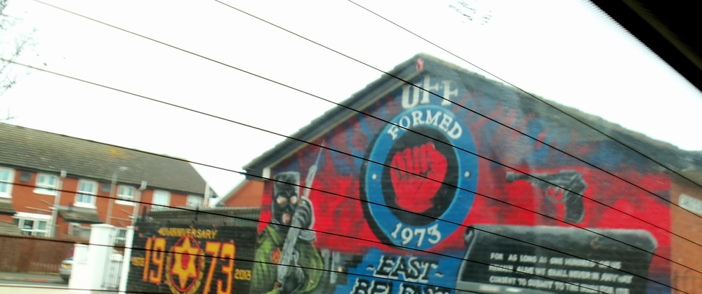 Loyalist Mural - Ulster Freedom Fighters