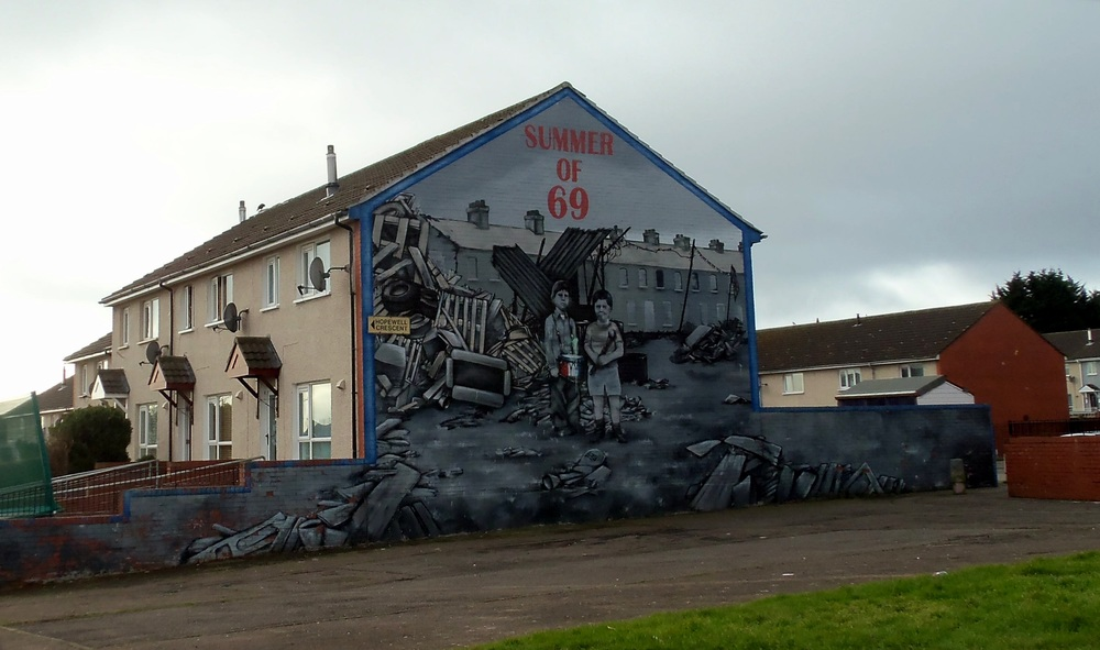 Mural - Riots of 1969