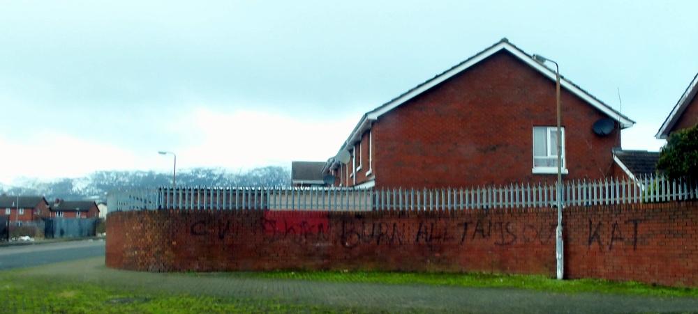 Anti-Catholic Graffiti