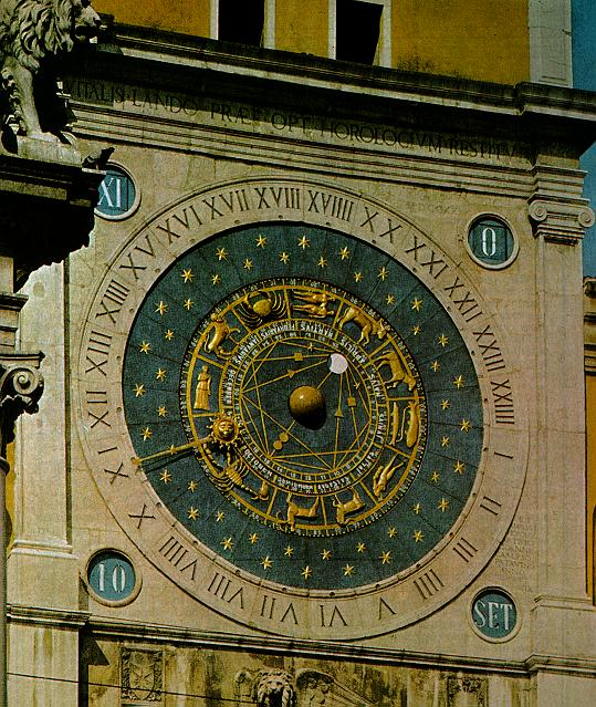 1334: Astronomical clock by Jacopo de Dondi, Italy