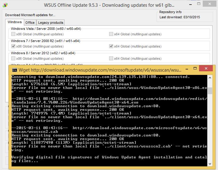 microsoft windows 7 updates offline