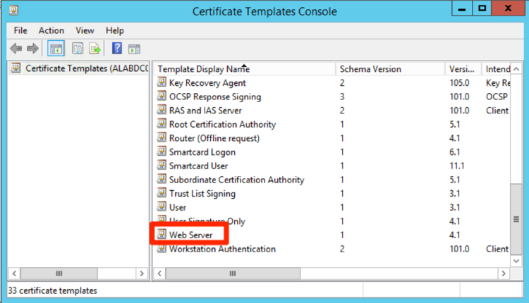 Winrm ssl certificate deployment via gpo in the certificate property window for the new template we navigate to the general tab and set a display name and template name i recommend using the same yadclub Images
